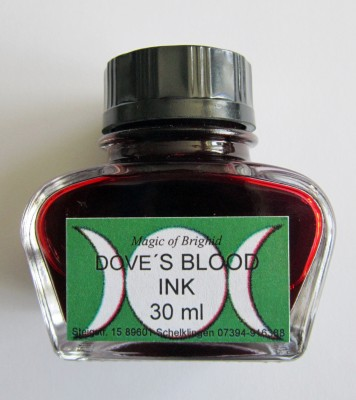 Magic of Brighid Doves Blood Ink