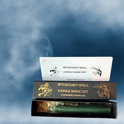 Witchcraft success spell candle