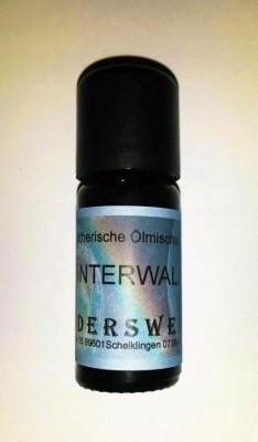 Essential oils blend Winter forest Phial with 10 ml