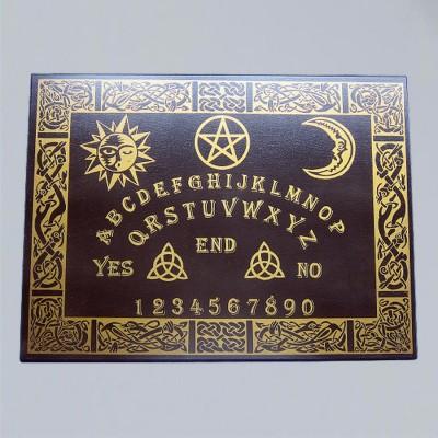Tavola Ouija celtica nera 2a scelta, inglese