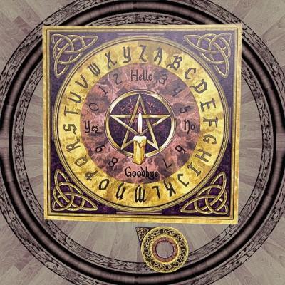 Tavola Ouija Pentagramma con triquetra
