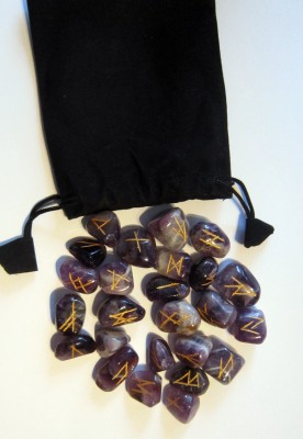 Rune Set from Amethyst