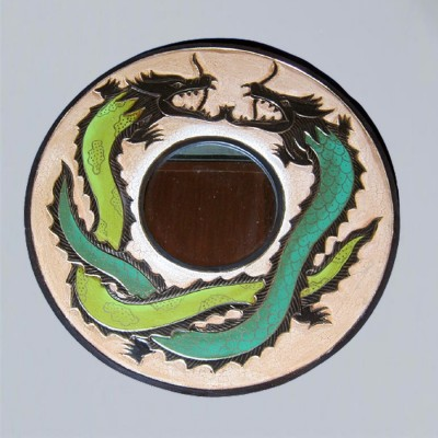 Drachenspiegel grün