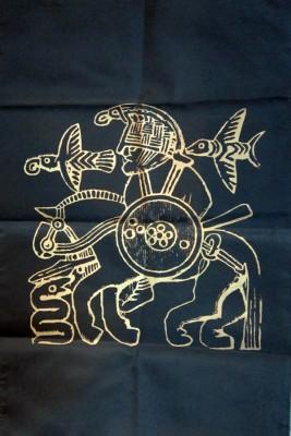Nappe Odin avec Cheval