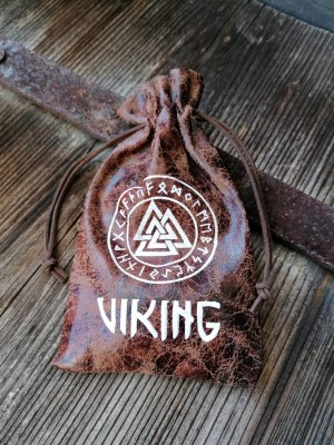 Pouch Viking with Wotan's knot