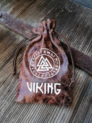 Pochette Viking avec nœud de Wotan