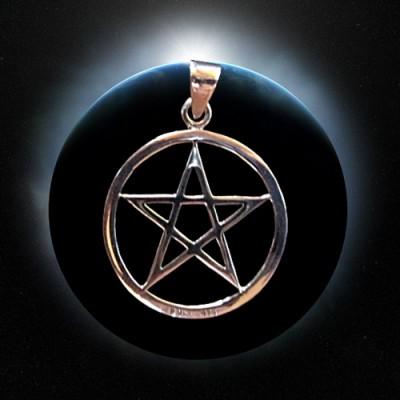 Ciondolo in argento Pentagramma