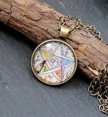 Wicca Pentagramm Anhänger