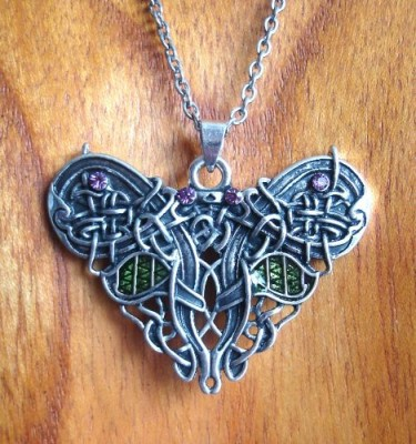 Collier Celtic Butterfly (Papillon celtique)