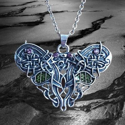 Collana della farfalla celtica