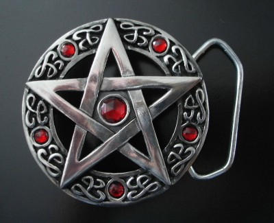 Belt Buckle Pentagram