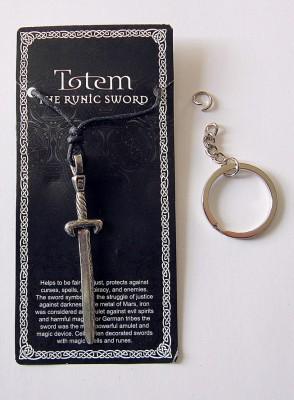 Pewter pendant Rune Sword
