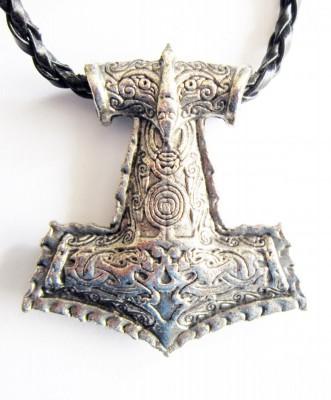 Pendentif Thors Hammer Mjölnir