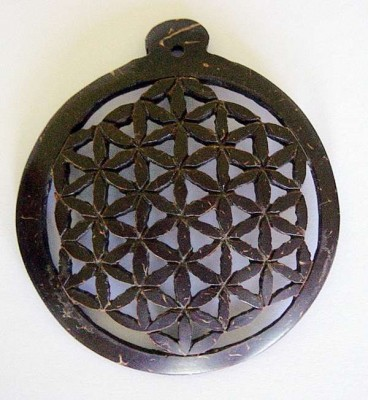 Pendant Flower of life (rune hagal)