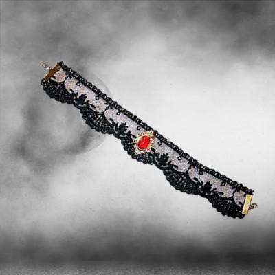 Vampire Girl Spitzen Halsband