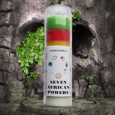 Voodoo Orisha Glaskerze Seven African Powers