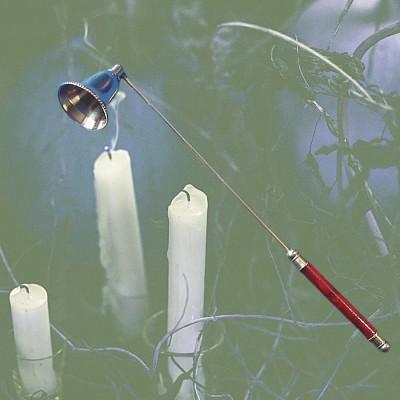Eteignoir à bougies avec mobiliers tête