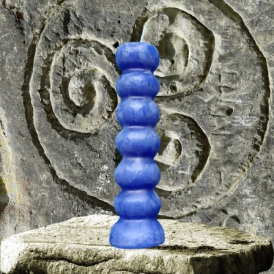 Figura candela per scopi magici - 7 pulsanti blu