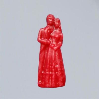 Große Hochzeitskerze rot-Figurenkerzen für magische Zwecke