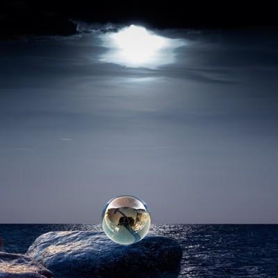 Boule de verre 6 cm