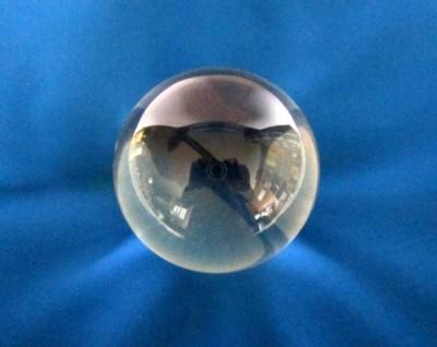 Sfera di vetro 8 cm