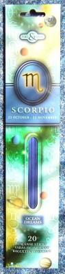 Bâtonnets d'encens astrologiques Scorpion - Ocean Dreams