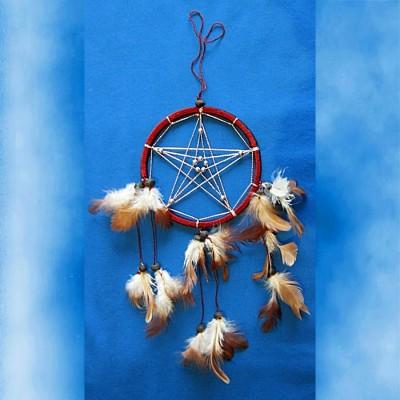 Dream Catcher with Pentagram