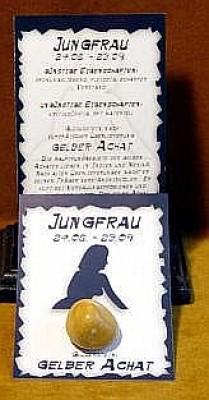 Glücksstein Jungfrau