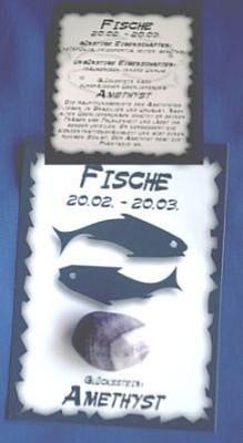 Glücksstein Fische
