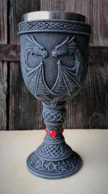 Chalice two dragons