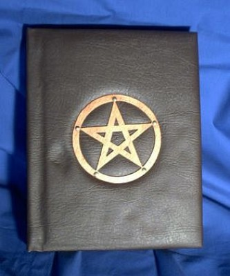 Book of Shadows, Synthetic Leather with Pentagram second choice