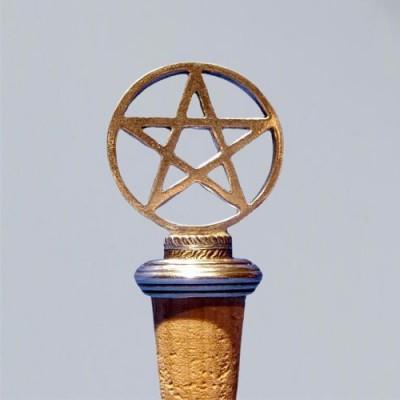 Cork with Pentagram