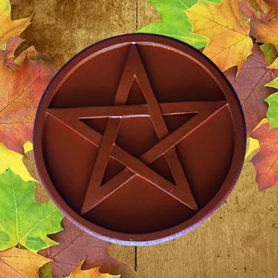 Pentagramma d'altare Pentagramma marrone