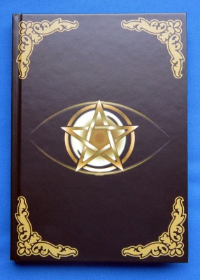 Book of Shadows Pentagram Golden Eye