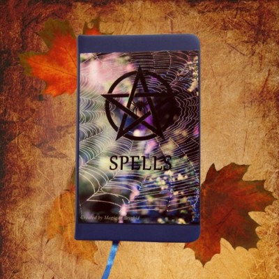 Spell Book Spider Web Din A 7