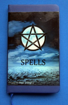 Spell Book Blue Moon Din A 7