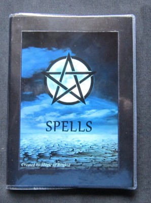 Spell Book Blue Moon Din A 6