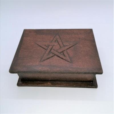 Tarot Kästchen mit Pentagramm