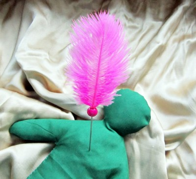 Voodoo Nadel pink