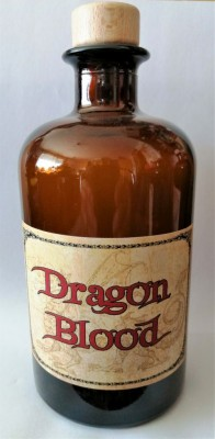 Alchemisten Flasche Dragons Blood