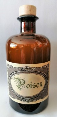 Alchimisti Bottiglie Poison