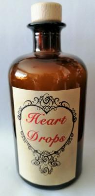 Alchemisten Flasche Heart Drops