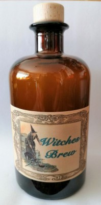 Alchemisten Flasche Witches Brew