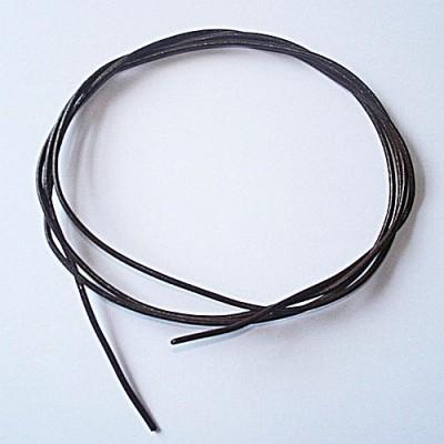 Corda in pelle di Capra, 1 m Marrone 1 pezzo