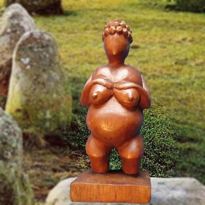 Wooden figure Earth Goddess