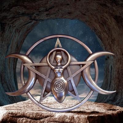 Dreifache Mondgöttin (Triple Moon Goddess)