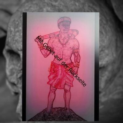 Voodoo Orisha Carta di preghiera Elegua