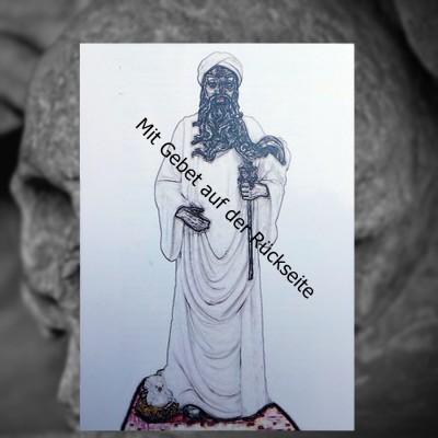 Voodoo Orisha Gebetskarte Obatala
