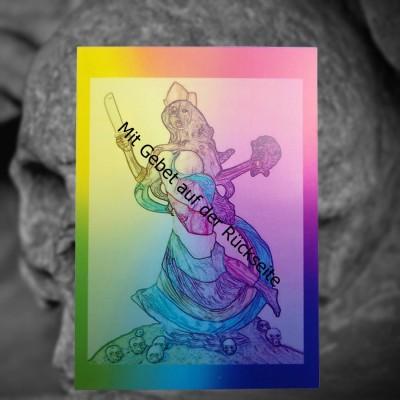 Voodoo Orisha Gebetskarte Oya