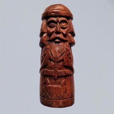 Odin Figure dans en bois